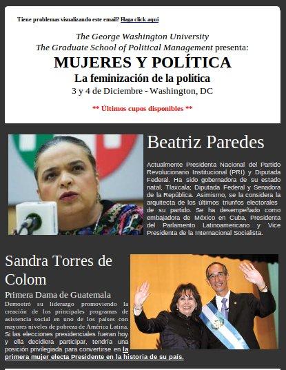 Mujeres y Política