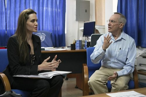 Angelina Jolie - Edmond Mulet