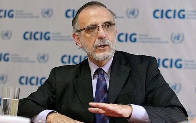 Iván Velásquez Gómez, jefe de la CICIG