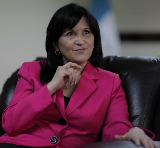 Magistrada presidenta de la CC Gloria Porras