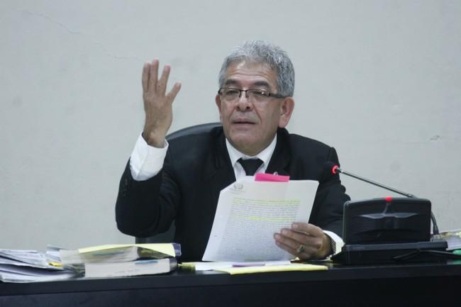 Miguel Angel Gálvez titular del Juzgado B de Mayor Riesgo
