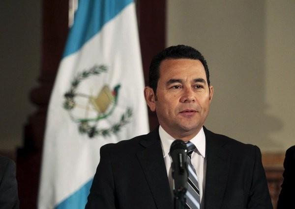 Presidente electo Jimmy Morales Cabrera