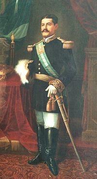 General de División José María Reina Barrios, presidente de Guatemala de 1892 a 1898.