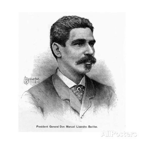 General Manuel Lisandro Barillas Bercián presidente de Guatemala de 1886 a 1892.