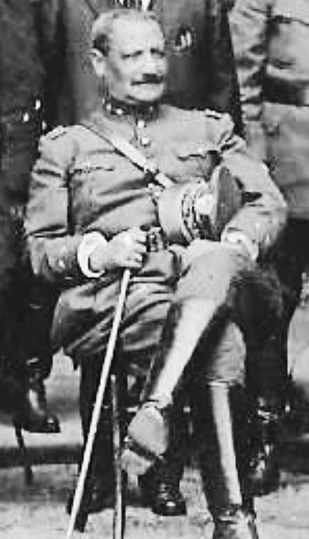 General José María Orellana Pinto, Presidente de la República de 1921 a 1926.