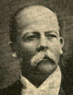 Manuel Estrada Cabrera en 1920