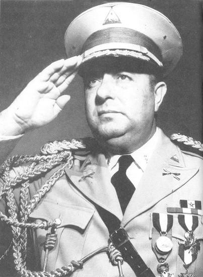 General Anastasio Somoza García, Presidente de la República de Nicaragua