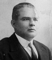 Licenciado Baudilio Palma, segundo designado a la Presidencia.