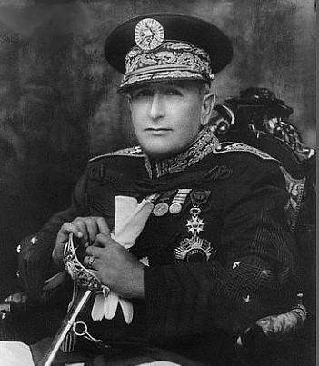 General de División Jorge Ubico Castañeda Presidente de la República de Guatemala.