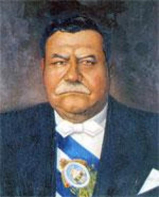 General y Abogado Tiburcio Carías Andino, Presidente de la República de Honduras.