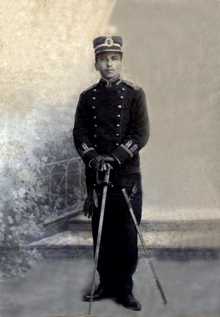 Mayor asimilado José Palmieri Calderón, Subcomandante de las tropas leales.